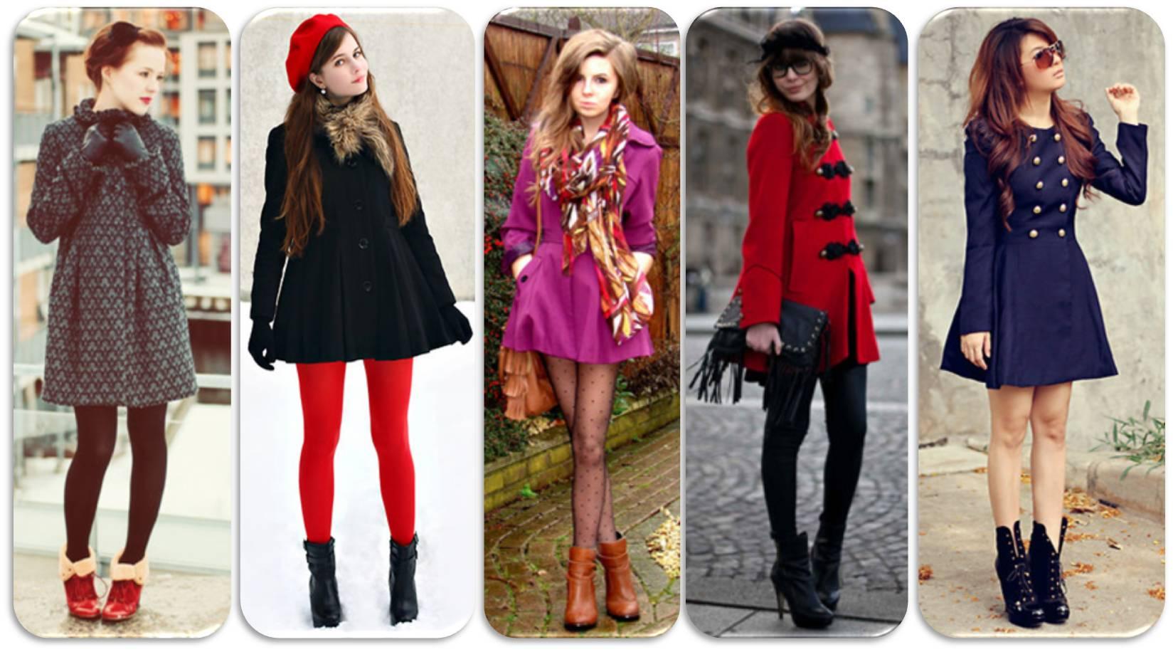 Vestidos para o frio