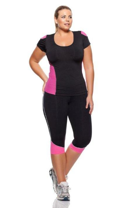 Cute Workout Clothes For Plus Size Women Moda Fitness Plus Size O Que