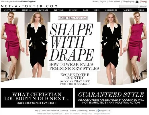 Image gallery net a porter outlet for Net a porter usa