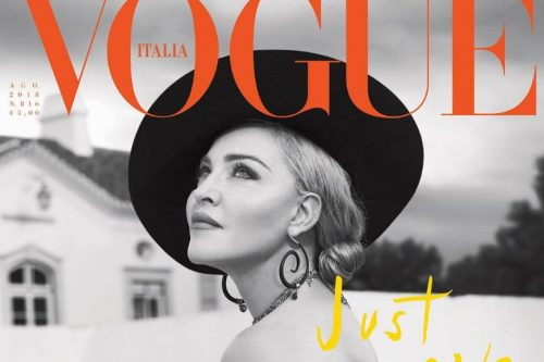 Madonna na Capa da Revista Vogue